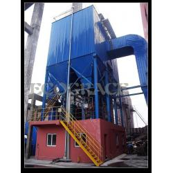 China High Temperature Baghouse Pulse Jet Bag Filter With 30kw Power Consumption on sale