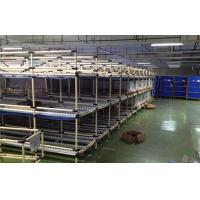 PE Coated Steel Storage Rack Industrial Warehouse Storage Racks 85 Roller Track