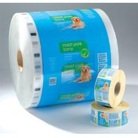Printed / Laminated Plastic Roll Film , Moisture Proof Plastic Film Rolls