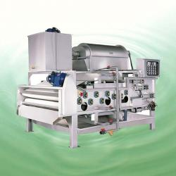 China HTD Series Dual Stages Rotary Drum Thickening/Dehydrating Belt Filter Press on sale