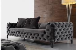 Sof s modernos italianos da tela sof da tela de - Sofas italianos modernos ...