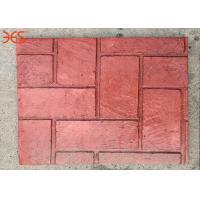 Non Fading Premixed Concrete Color Hardener Red Color 96% Solid Content
