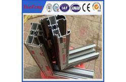 China Ventanas y puertas de aluminio de la protuberancia del marco para el edificio de oficinas proveedor