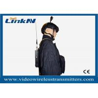 Military Backpack Portable COFDM Transmitter Two Way Voice Intercome 256 - bit AES Encryption