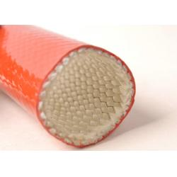 China Heat Insulation Silicone Fireproof Sleeve Heat Resistance for Steel Plants , Smelters on sale
