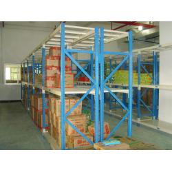 China Grey Metal Shelvig Industrial Storage Racks for Logistic central on sale