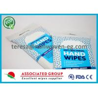 All Natural Antibacterial Wet Wipes Herbal Scent Smell with Essential Oils