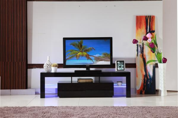 Modern living room led tv stand tv table wlf tv007 wlf - What size tv for living room chart ...