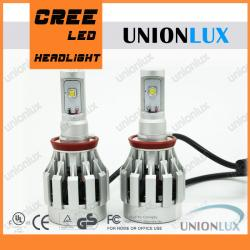China High Power 50w CREE-XM-L2 H8 Car LED Headlight Bulbs 4000lm for Auto Cars on sale