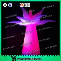 3M Festival Events Hotel Decoration Inflatable Flower Tree With LED Light