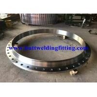 S31254 1.4547 254 SMO Forged Stainless Steel Flanges And Ring For Pipeline And Valve Connection