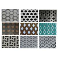 Punching Square Hexagonal Perforated Sheet 3003 H14 For Acoustic Wall Panels