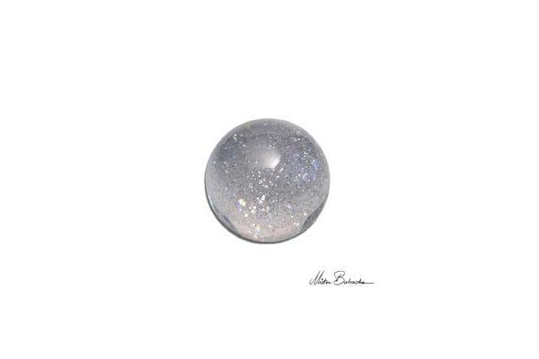 crystal/ acrylic ball-glitter
