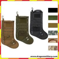 Hot sale new Christmas Tactical Stocking with molle