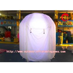 China Digital Lighting Inflatable Tent Portable Photo Booth Tent  With Led on sale