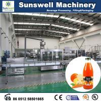 PET Bottles Hot Filling Machine , Fresh Juice Filling & Packing System