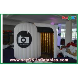 China Gaint Inflatable Photo Booth , Portable Rounded Strong Oxford Cloth Photo Booth on sale