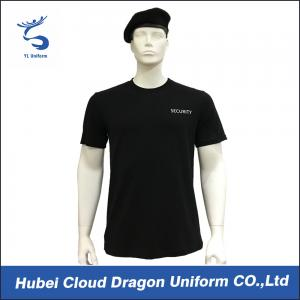 China Half / Short Sleeve Police Department T Shirts With Breathable Fabric , Multiple Color supplier