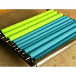 China ABS Handle Cleaning Rubber Rollers Anti - Static Adhesive Clean Room , Any PMS Color on sale