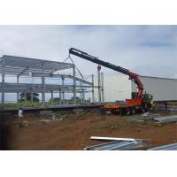 Economical design big wind load steel warehouse in Mauritius