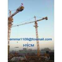 QTZ5015 Building Tower Crane 6tons Load High Motor Protection Class H