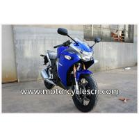 Water-cooled Blue Two Wheel Drag Racing Motorcycles Honda CBR250 Sports Car