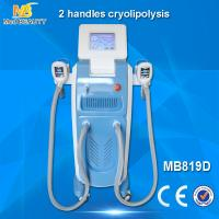 2 handles cryolipolysis machine weight loss /cool sculpting machine/fat freezing machine