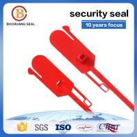 400mm tamper proof disposable plastic strip seal ties P201  Container Trucks  trailer doors. Postal bags,