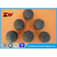 High Hardness Range of 20mm-150mm Forging Grinding Ball for Gold Mine