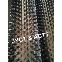 China Fired Heaters Studded Tube Nailhead Pipe A106 OD114.3 mm X 6.02 X 6500 mmL on sale