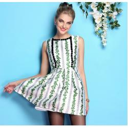 China wholesale brand women dress women apparel fashion women clothing wholesale brand fashion BL858-green-b on sale