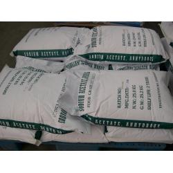 China polymer stabilizer Sodium Acetate Anhydrous for pharmaceutical industry on sale