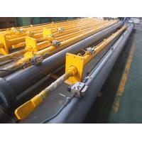 QPPY Series Flat Gate Hydraulic Hoist Single Acting Hydraulic Cylinder