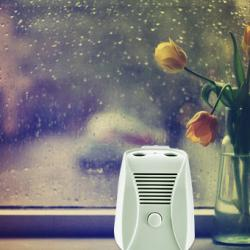 China Slient Mini DC 6V Home Air Purifier with Dual Ion and Ozone Function on sale