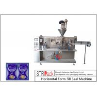 Automatic Sachet Horizontal Form Fill Seal Machine 4 Sides Sealed For Powder Products