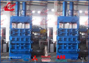 Industrial Baler Vertical Baling Machine For Loose Materials Low Running Noise