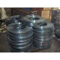 cold - rolled electrical heat Prime packing Blue Steel Packing Strip / Strap