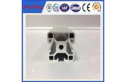 China el aluminio de la ranura de las partes de impresora 3D T sacó el perfil 2020,4040 de los marcos del aluminio de las secciones proveedor