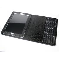 ABS Bluetooth Keyboard Case for iPad 2 (Keyboard detachable , Crocodile texture)--ID2-4