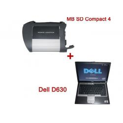 China Full Set Mercedes Star Diagnostic Tool , MB SD Connect Compact 4 Star Diagnosis on sale