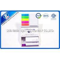 Colorful Customized Memo Sticky Notes In Hard Cover Box , Loose Leaf Type 150 Page