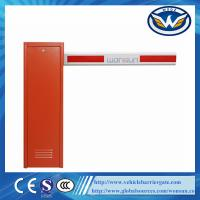 Intelligent Automatic Car Parking System Barrier Gate With Straight Boom For Car Parking System Barrier