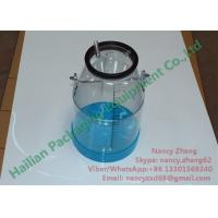 Milking Spares Plastic Transparent Milking Bucket 25Liter with Measuring Scale