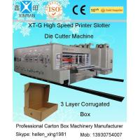 Stable Performance Printing Slotting Die-Cutting Carton Packaging Machinery