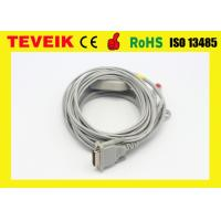 OEM Avionics / Schiller EKG Machine DIN 3.0 EKG Cables DB 15 Pin AHA