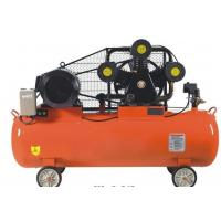 Portable High Pressure Pison Belt Driven Air Compressor With Aluminium / Copper Wire Motor