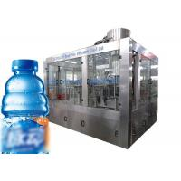 Automatic Small Plastic Bottle Filling Machine Carbonated Soft Drink / Beverage Filling Equipment