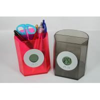 ABS Pen Holder Eco Water Powered Clock For Corporate Promotional Gifts