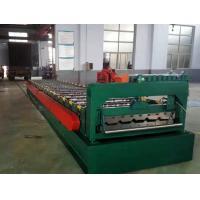 Customized Design Roof Roll Forming Machine / Corrugated Sheet Making Machine