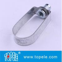 Standard Steel Clevis Hanger / Pipe Clamps For Tunnels, Culverts Strut Channel Unistrut Fittings
